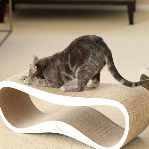 stress katten verminderen met MyKotty krabpaal